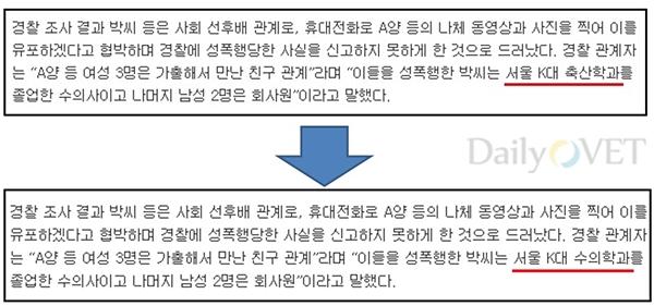수의사성폭행기사