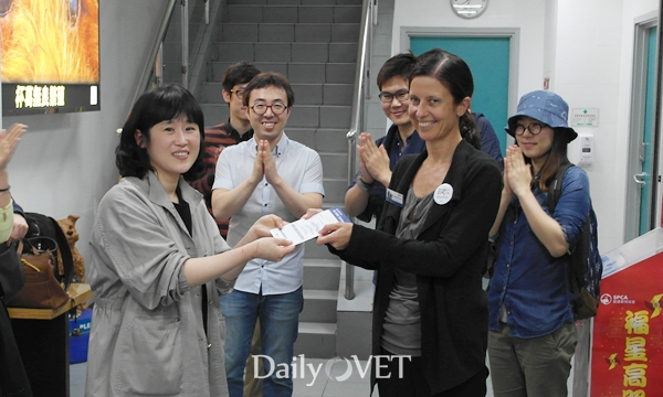 KSFM_donation to SPCA HK