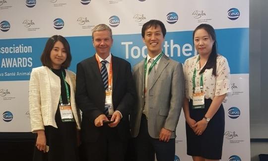 (왼쪽 두번째부터) 마크 프리카즈스키 세바 글로벌 CEO, 김용석 세바코리아 대표