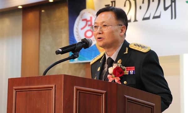 제21대 수의병과장 조재기 대령