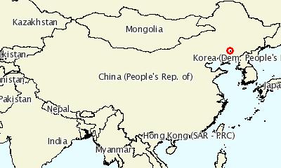중국 최초 ASF 발생지역 (자료 : OIE)