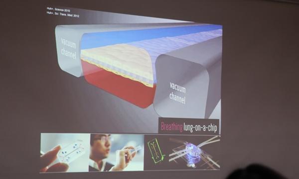 허동은 교수팀이 개발한 'lung-on-a-chip' 모델