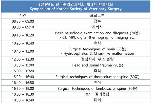 이번 학술대회는 8월 24일(대구)과 25일(서울) 각각 같은 프로그램으로 진행된다