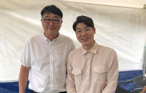 왼쪽부터) 안세준 대전시수의사회장, 설채현 수의사
