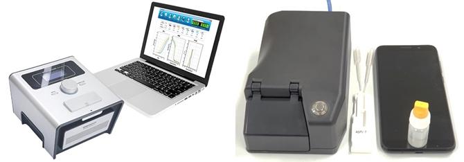 사진2. Portable Realtime PCR 및 형광 래피드 키트