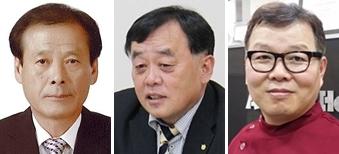 (왼쪽부터) 김중배, 양은범, 허주형 수의사