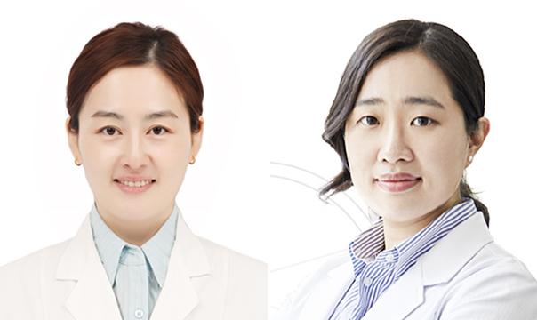(왼쪽부터) 아시아수의안과전문의 자격을 획득한 강선미, 김주리 수의사
