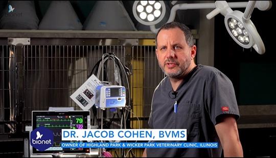 바이오넷을 추천하는 미국 수의사 Dr. Jacob cohen